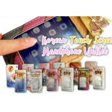 Korean touch screen hand phone wallet