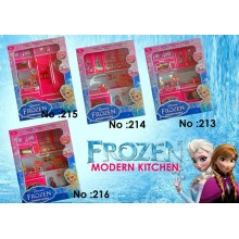 Frozen kitchen toy play set