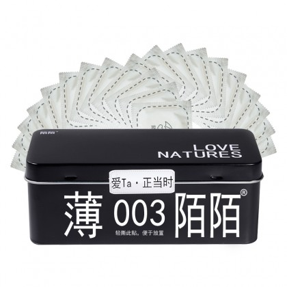 MOMO LOVE NATURES 003 ULTRA THIN BOX CONDOMS 35 PCS