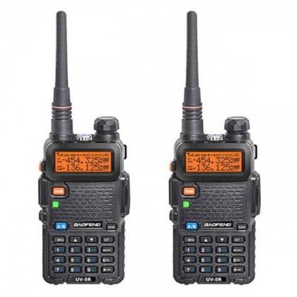 BAOFENG UV5R Dual Band Handheld Walkie Talkie 5W 128CH UHF VHF Radio Station