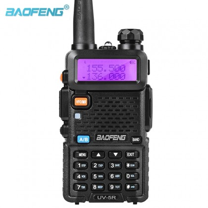 BAOFENG UV5R [A] Dual Band Handheld Walkie Talkie 5W 128CH UHF VHF Radio Station