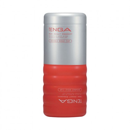 [D] TENGA Double Hole Cup (Standard Edition)