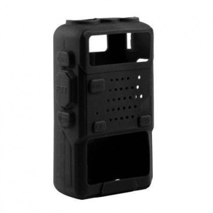Silicon Case/Rubber Cover [A] For TYT Baofeng UV5R UV5RA Walkie Talkie Radio Casing