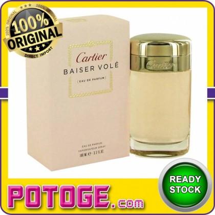 Cartier Baiser Vole 100ml EDP (ORIGINAL AUTHENTIC PERFUME)