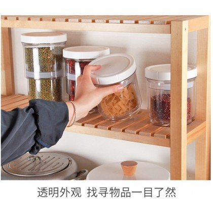 1/2 Smart Storage Adjustment Container Airtight Store Organizer Kitchen Organizer