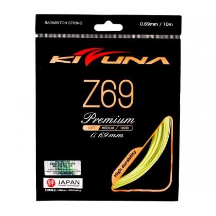 KIZUNA Z69 Premium Gauge [K] 0.69MM Original Made in Japan Badminton String Tali Racquet (Soft Feel)