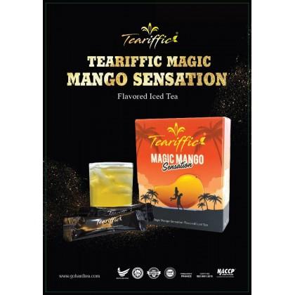 TEARIFFICE [B] Natural Magic Mango Sensation Flavored Iced Tea Go Hard Tea (Teh Jantan)