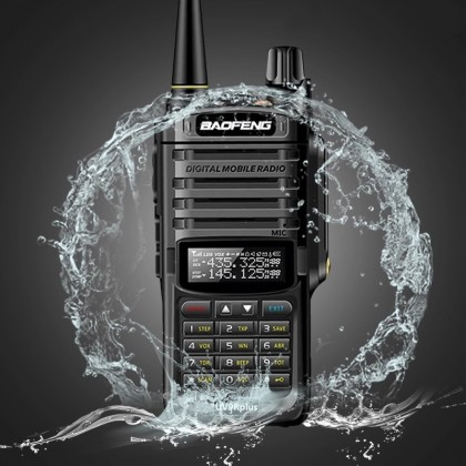BAOFENG UV9R Plus 7W [A] UV-9R IP67 Waterproof Weatherproof Walkie Talkie VHF UHF Dual Band Channel 2 Way Radio