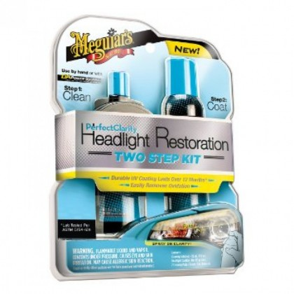 Meguiar's Perfect Clarity Headlight Restoration Kit (Meguiars Original)