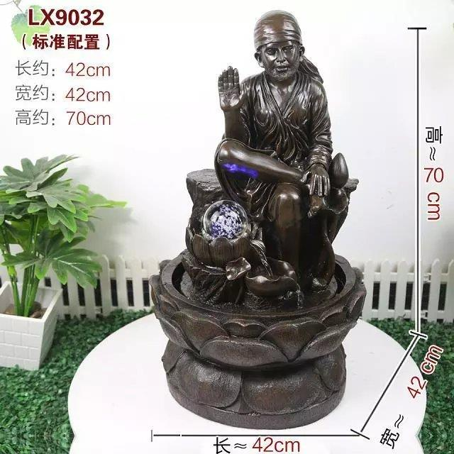 FENG SHUI WATER FOUNTAIN - BABA LX 9032 HOME DECORATION