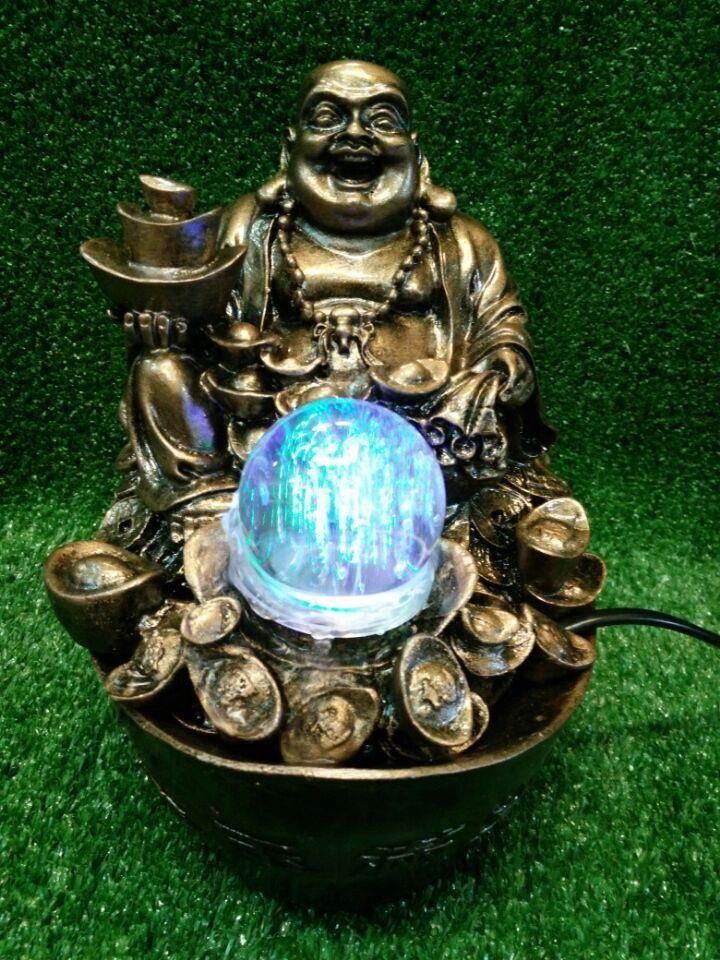 FENG SHUI WATER FOUNTAIN - BUDDHA 8893 CHINESE HOME DECORATION