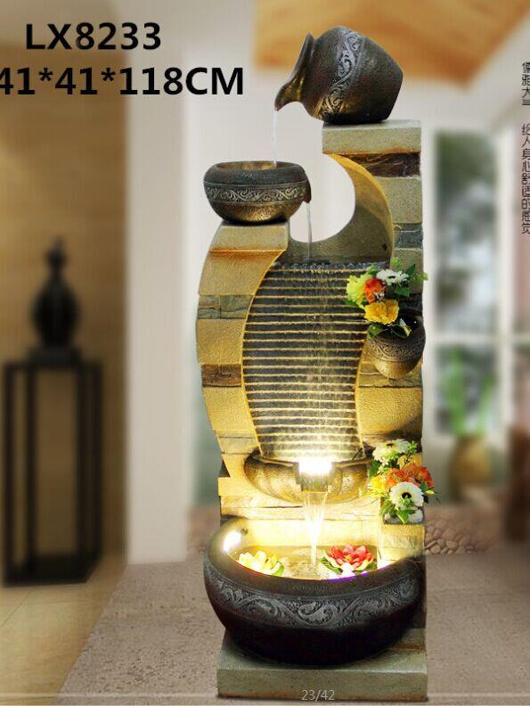 FENG SHUI WATER FOUNTAIN - LX8233 HOME OFFICE INTERIOR DECO
