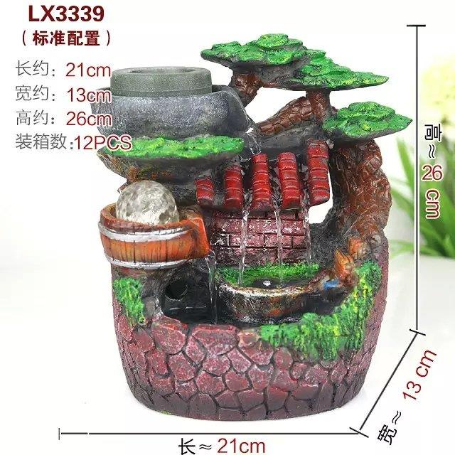 FENG SHUI WATER FOUNTAIN LX3339 TABLE TOP FOUNTAIN DECORATION