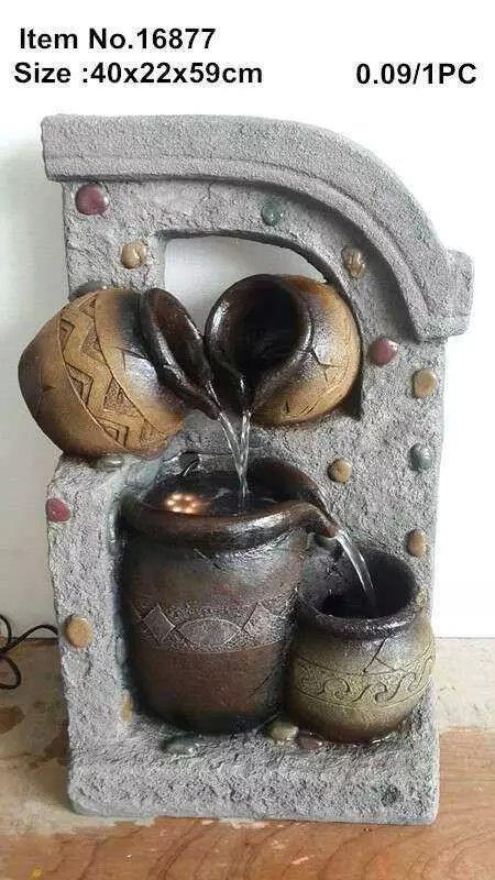 WATER FOUNTAIN - LX16877 FENG SHUI WATER FEATURE HOME DECO GIFT