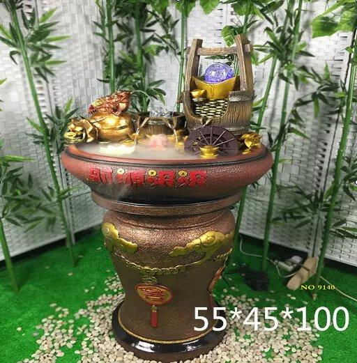 WATER FOUNTAIN - LX9141 FENG SHUI WATER FEATURE HOME DECO GIFT