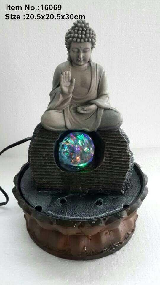 WATER FOUNTAIN - BUDDHA 16069  FENG SHUI WATER FEATURES FOUNTAINS