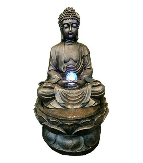 BUDDHA WATER FOUNTAIN LX9026 FENG  SHUI WATER FEATURE HOME DECO GIFT