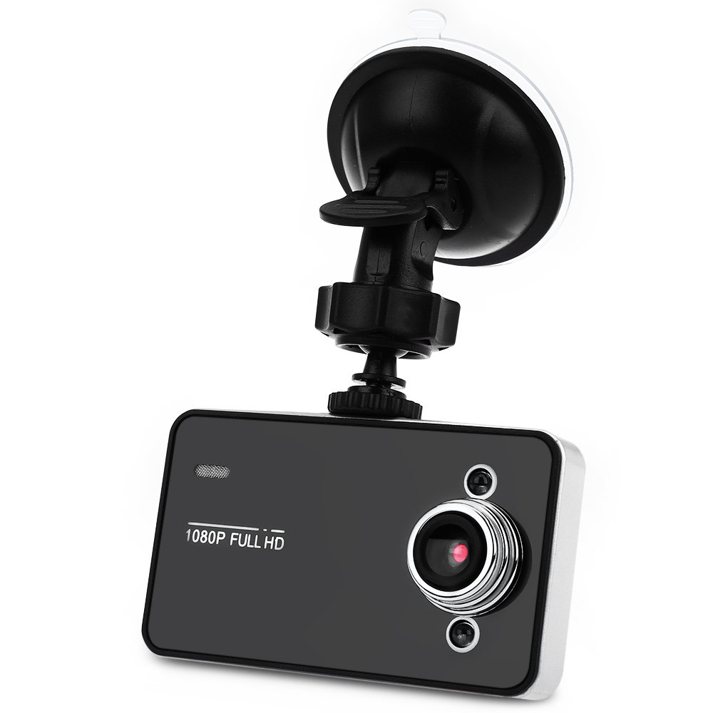 "K6000 2.7"" LED Night Video Recorder Vision Camera CAR DVR FULL HD 1080P"