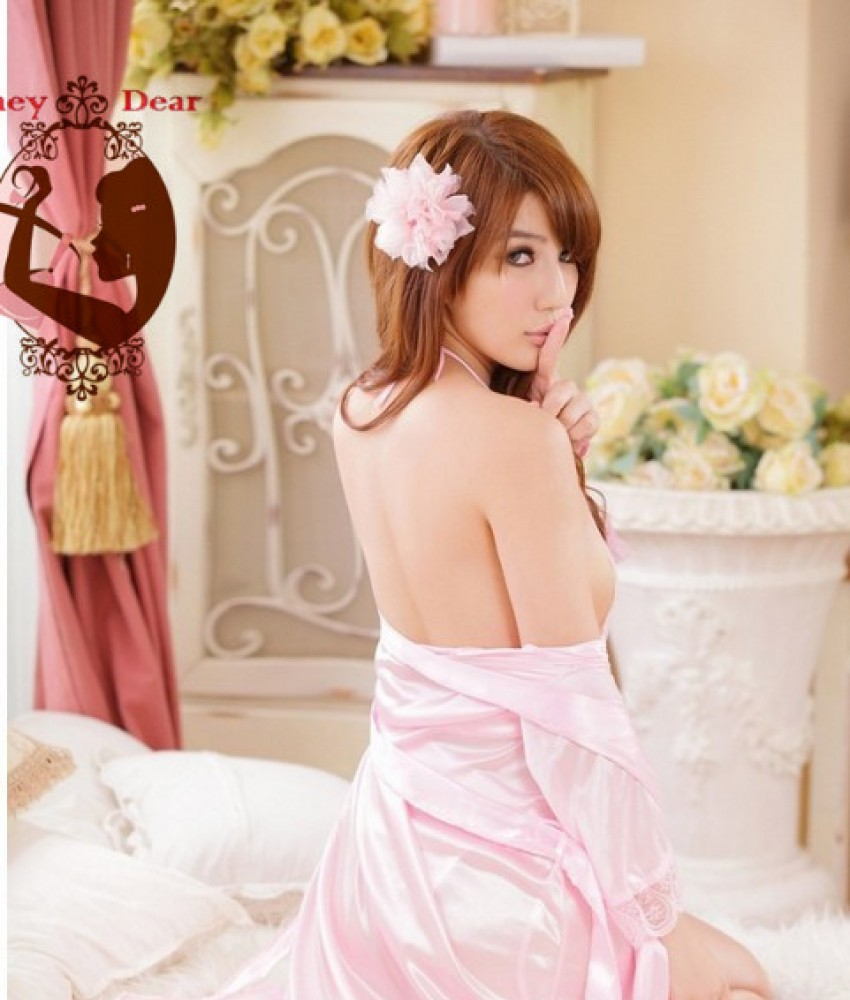 Signature Sexy Teddy with Robes YW547 (2PCS)