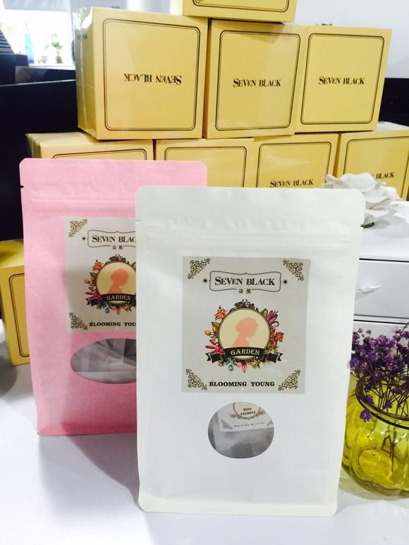 SEVEN BLACK Organic Premium Flower Tea - Osmanthus Princess
