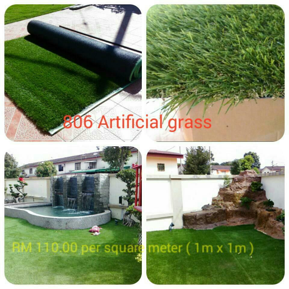 40mm ARTIFICIAL, FAKE, ARTIFICIAL GRASS ( RM 60.00 1 m X 1 m )