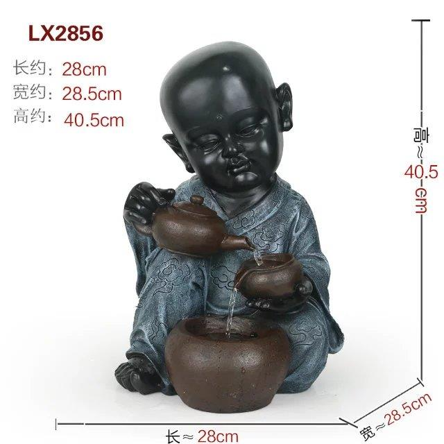 FENG SHUI WATER FOUNTAIN - LITTLE MONK 2856 INTERIORHOME DECORATION