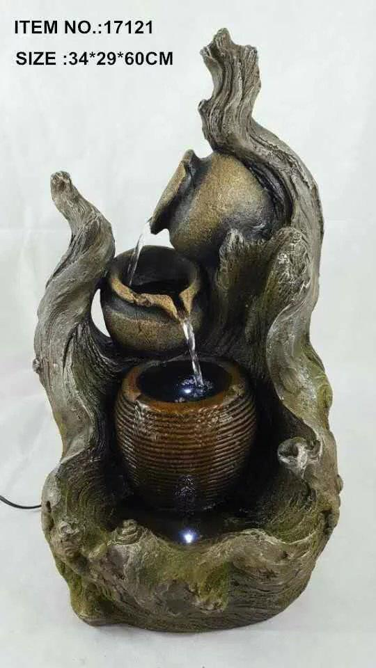 FENG SHUI WATER FOUNTAIN - 17121 OFFICE INTERIOR HOME DECO