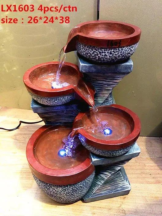 FENG SHUI WATER FOUNTAIN - 1603 CHINESE POT OFFICE HOME DECO