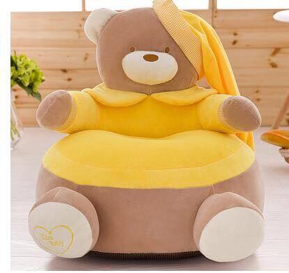 Cute Baby Cartoon Chair Cushion - Pikachu Minion Bear Hello Kitty Winnie Pooh