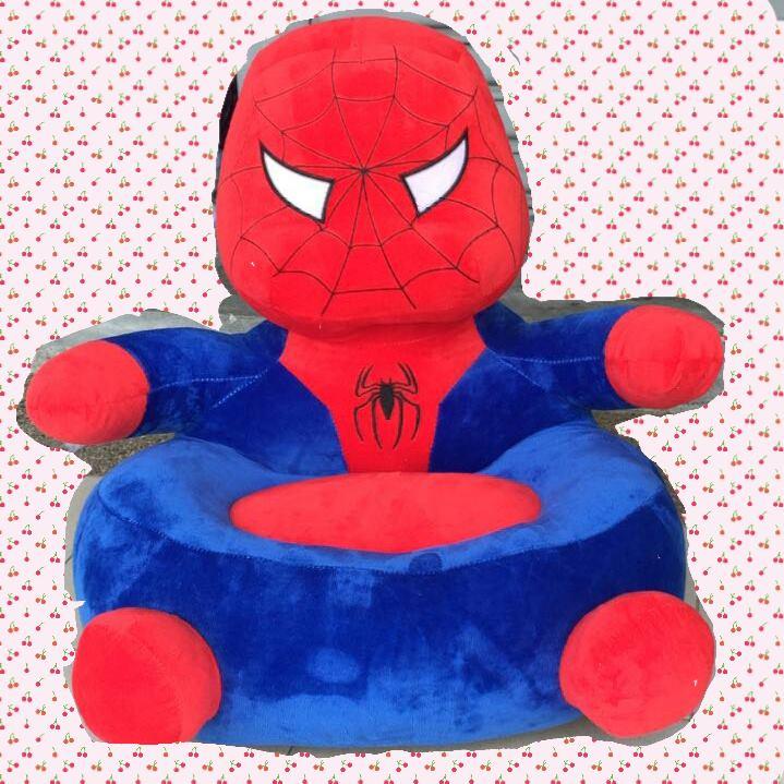 Cute Baby Cartoon Chair Cushion - Spiderman Captain America Crayon Shin Chan