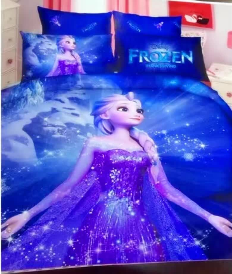 Quality 800tc Frozen Bedding Bed Sheet