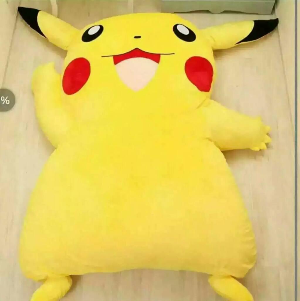 Home Single Twin Cartoon Cotton Lazy Bag Pokemon Pikachu Stitch Comfortable