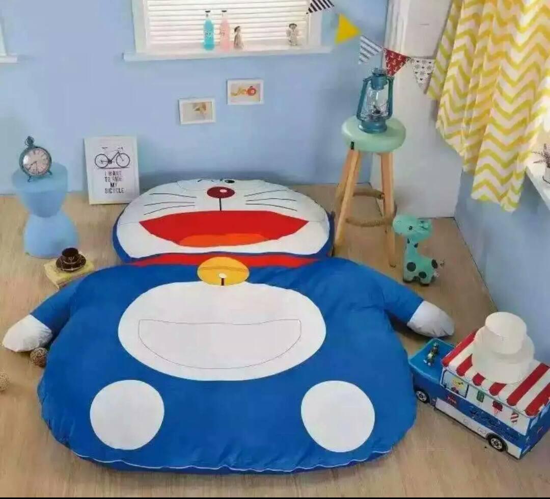Home Single Twin Cartoon Cotton Lazy Bag Doraemon Totoro Comfortable