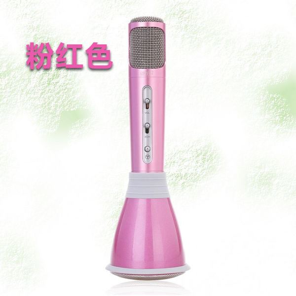 TUXUN K068 Mobile Karaoke Wireless Bluetooth Speaker Microphone Mic Gift