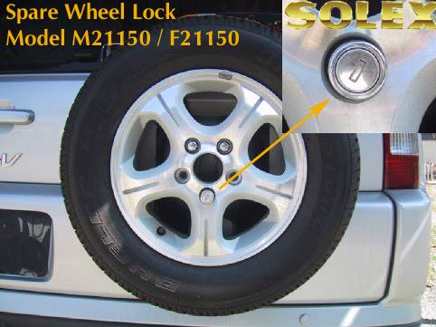 SOLEX Spare Wheel Lock
