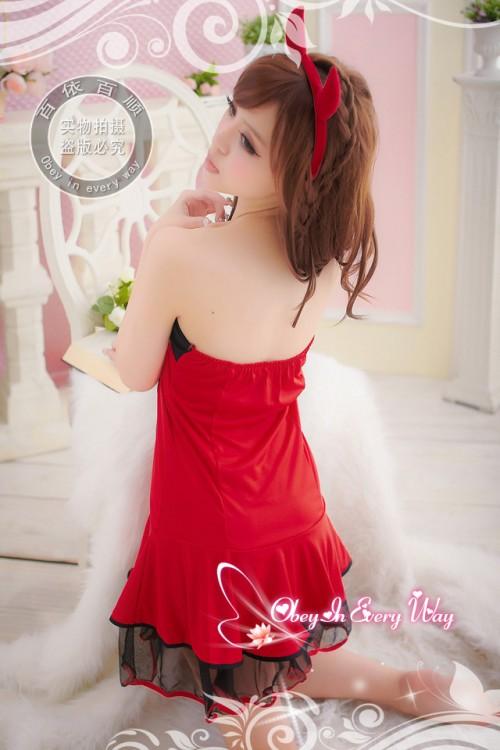 Sexy Devil Red Costume [F]