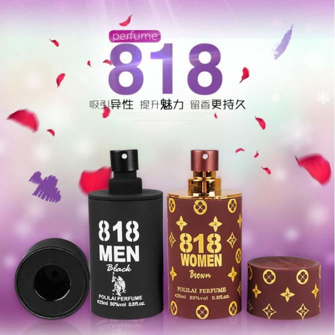 818 Pheromone Perfume Attract Dating Sex Men Women Cologne Play
