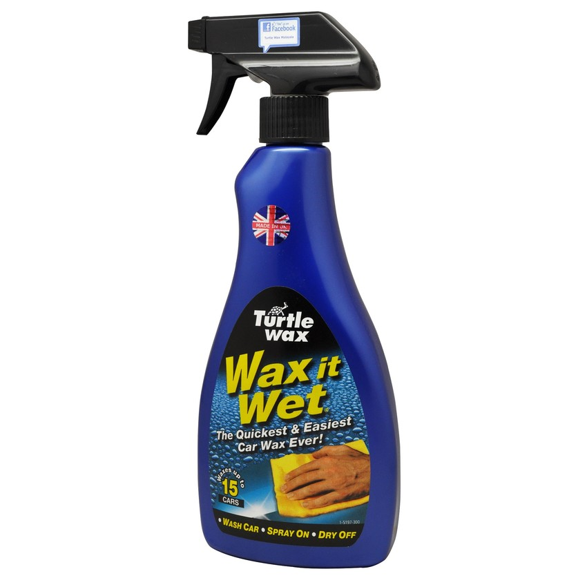 (ORIGINAL) TURTLE WAX® Wax it Wet®