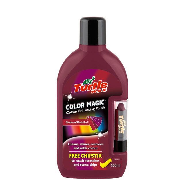 (ORIGINAL) TURTLE WAX® COLOR MAGIC PLUS DARK RED
